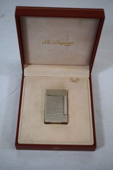 Silver plated Dupont lighter - second half of the 20th century