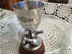 Silver plated metal Cup - MARTINI - France - 1963 - one of a kind