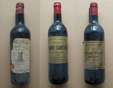 1958 Château La Tour St. Bonnet Médoc 1 bottle - 1982 Château Brane-Cantenac Margaux 1 bottle - 1984 Château Notton Margaux 1 bottle / 3 bottles in total