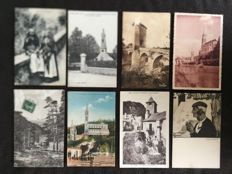 lot of about 960 postcards of France, Pyrenees, departments 64, 65, 66 and various - early 20th century to the 1960s various France
