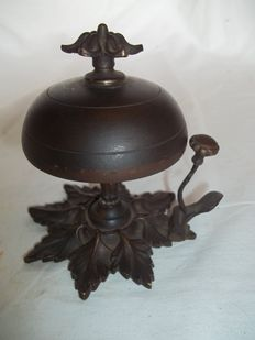 Antique French desk/hotel bell, France, ca. 1920