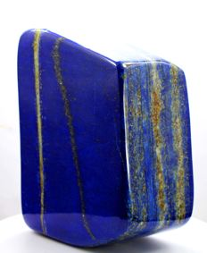 Finest Quality Royal Blue Lapis Lazuli tumble - 112 x 85 x 47mm - 1194gm