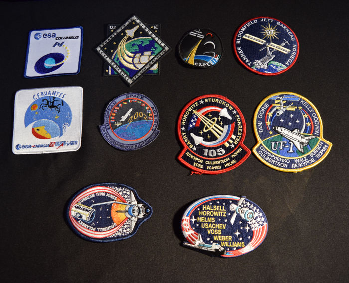 Space patches (10 pieces)