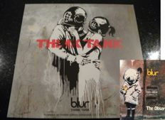 Banksy - Blur/Think Tank and Blur/Promo CD The Observer