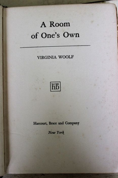 Virginia Woolf - A room of one's own -1929 for sale
