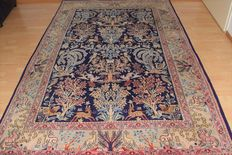 Persian carpet Qom/Ghom - second half last century - wool and silk on cotton - approx: 250 x 160 cm. With certificate of authenticity