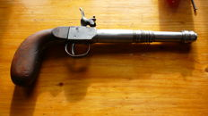 Rarity, Percussion Gun 4.9 mm, Travel Gun? Deringer? possibly a Belgian pistol?