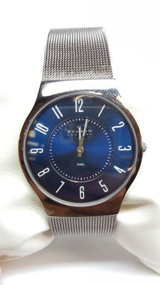 Skagen watch, 233LSTN, unisex wristwatch, new – 21st century, no reserve!