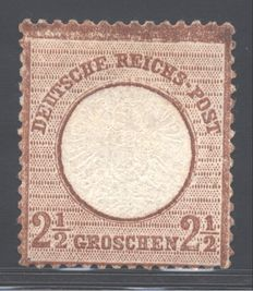 Deutsches Reich - 1872 - Large shield - Michel no. 21