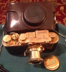 "Fed ""Luftwaffen camera"" with Lens and Case . MINT!"