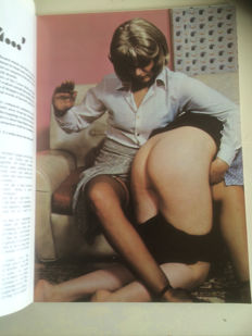 BDSM; Lot with 10 various English spanking magazines-1977/1985