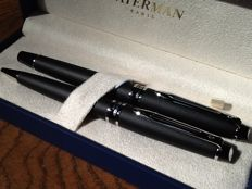 Waterman Expert II Fountain pen & Ballpoint pen set , in mint condition.