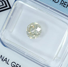 Diamond – 1.04 ct R-S light yellow