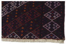Genuine Kilim, very ancient, original collector's piece – 3713 Kilim Cicim 125 x 83 cm – with authenticity certificate from an official expert (Galleriafarah1970)