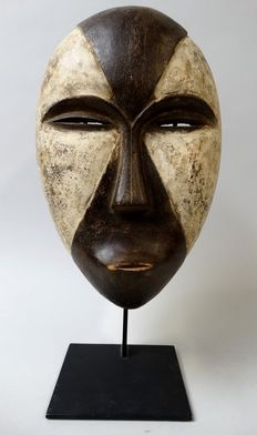 African face mask used by the Galoa tribe living in Gabon
