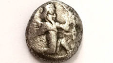 Greek Antiquity - Asia Minor - Lydia - Period of Darius I to Xerxes II (ca. 485-420 BC) AR Siglos Sardes mint.