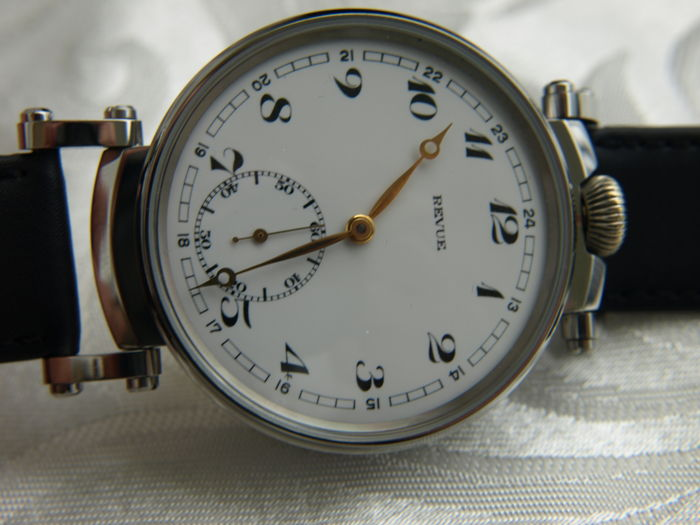 32 Revue Thommen men's marriage wristwatch 1920-1925