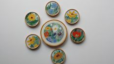 Westraven - set of 6 coasters and a placemat