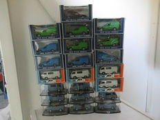 AHC Models - Scale 1/43  - Lot with 22 models: 12 x Mercedes-Benz MB 100 & 10 x Opel Combo
