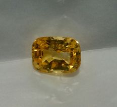 Zaffiro - Yellow Orange - 12,58 ct