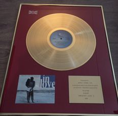 "UK Gold sales award for the Telstar compilation album ""Greatest Love 5"""