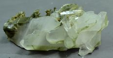 Fully Terminated Chlorite Inclusions in Quartz Crystals - 117 x 52 x 35mm - 192gm