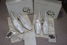 Sara Navarro – Wedding Collection Shoes – 2 pairs