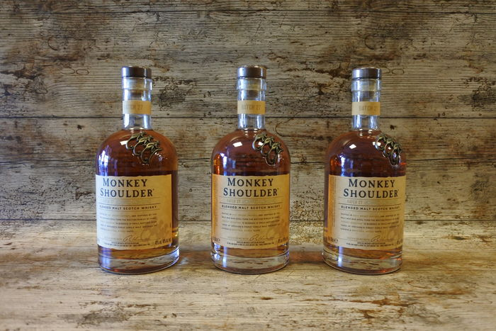 Monkey Shoulder Batch 27 - 70cl - 3 bottles