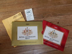 Australia  – 200 Dollars 1985 'Koala in Tree' in original packaging – gold