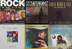 "Pop/Rock ""Best Of"" Collection of 6 LP Albums"