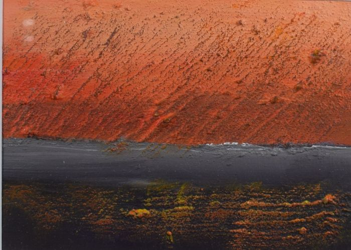 Yvonne van Woggelum - Abstract landschap 2