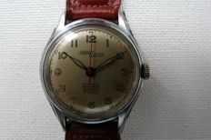 NICOLET WATCH Man's Military/Medicus Wristwatch Circa 1943/4