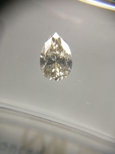 0.54 ct Pear cut diamond I VVS2