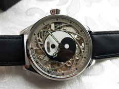 Novella Skeleton Men's marriage wristwatch 1910-1915