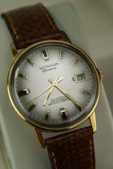 Wittnauer Geneve Automatic Chronometer Officially Certified 1953