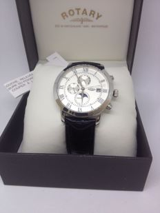 Rotary Automatic Watch - Moonphase Collection - GS02377/01
