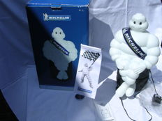 Original Michelin Man Lamp - with box and Pennant and light adapter, early 21st century