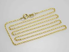18k Gold. Anchor Chain. Length 50 cm
