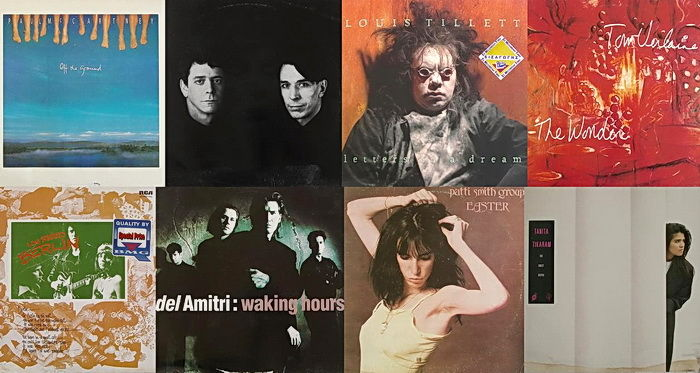 Pop/Rock Collection of 8 Lp Albums