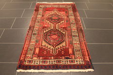 Old Persian carpet Sarab Made in Iran 95 x 155 cm wool on cotton, natural colours