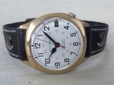 """10! KGP Bulova Accutron Cal. 2181 """"Railroad"""" with box and papers, from 1973"""