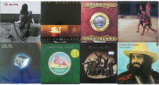 Pop/Rock Collection of 8 albums in 8 LPs