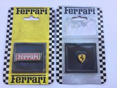 Lot of 2 original Ferrari pins from 1996 and 1999