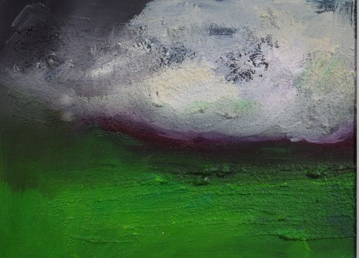 Yvonne van Woggelum - Abstract landschap 1 (Abstract landscape 1)