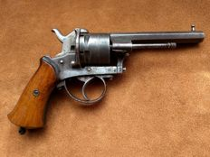 """Large 9 mm revolver type Lefaucheux pinfire """"The Guardian American Model of 1878"""""""