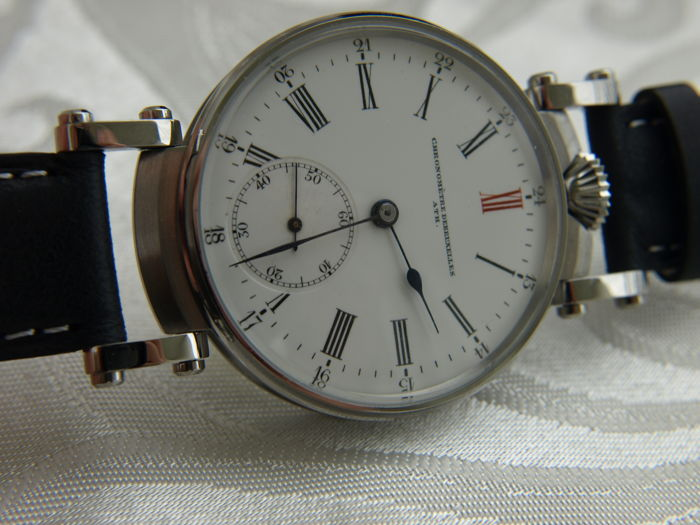 13 Chronometre DeBruxelles ATH - mariage men's wristwatch 1910-1915