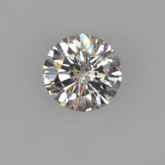 0.68 ct brilliant cut F SI2