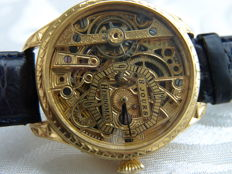 Hebdomas 8 Day - Skeleton Men's marriage watch - 1900-1905
