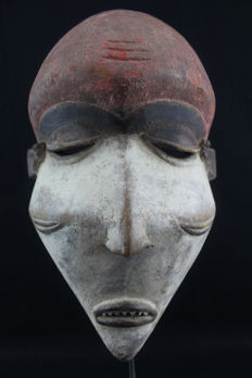 African tribal mask - PENDE - D.R. Congo