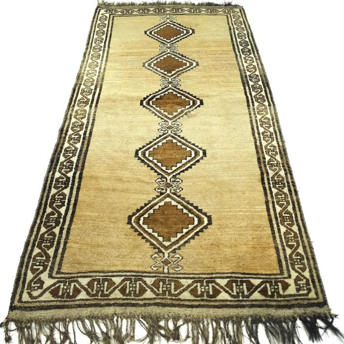"Qashqai – 290 x 119 cm – ""Eye-catcher – Persian runner – 100% wool – n beautiful condition"" - with cetrificate"